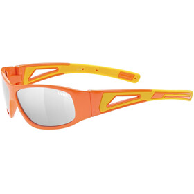 UVEX Sportstyle 509 Glasses Kids, orange/yellow/litemirror silver